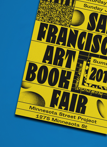 SF Art Book Fair