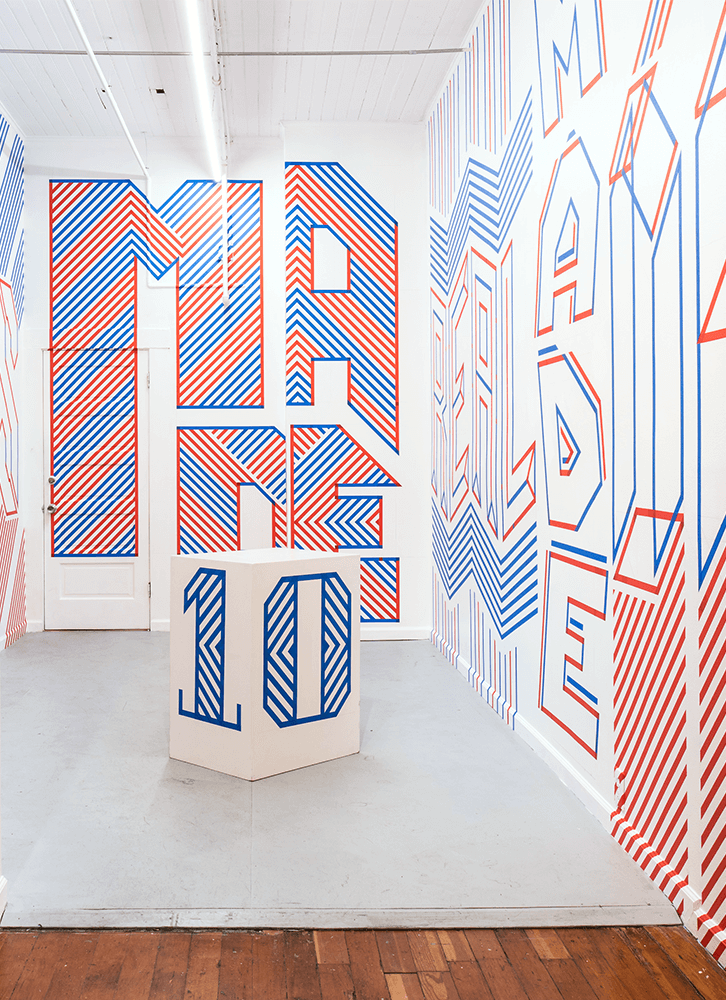 Typographic Installation