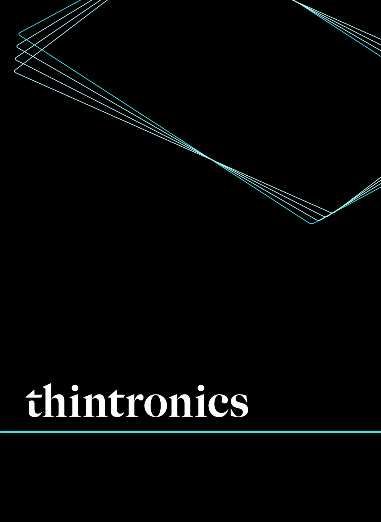 Thintronics